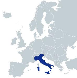 Obiective Turistice Italia Italia Hartaeuropa